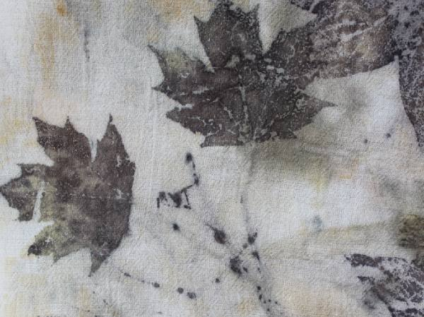How to Eco Print with Leaves on Fabric