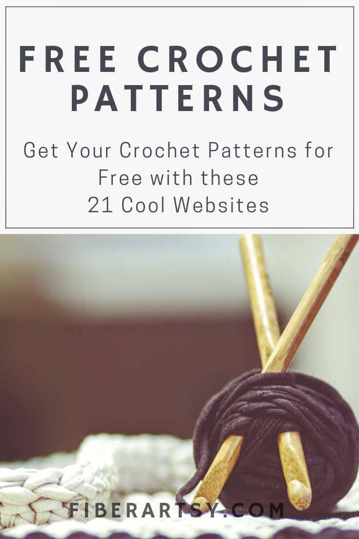 Free Crochet Patterns. 21 Websites for all Free Crochet Patterns