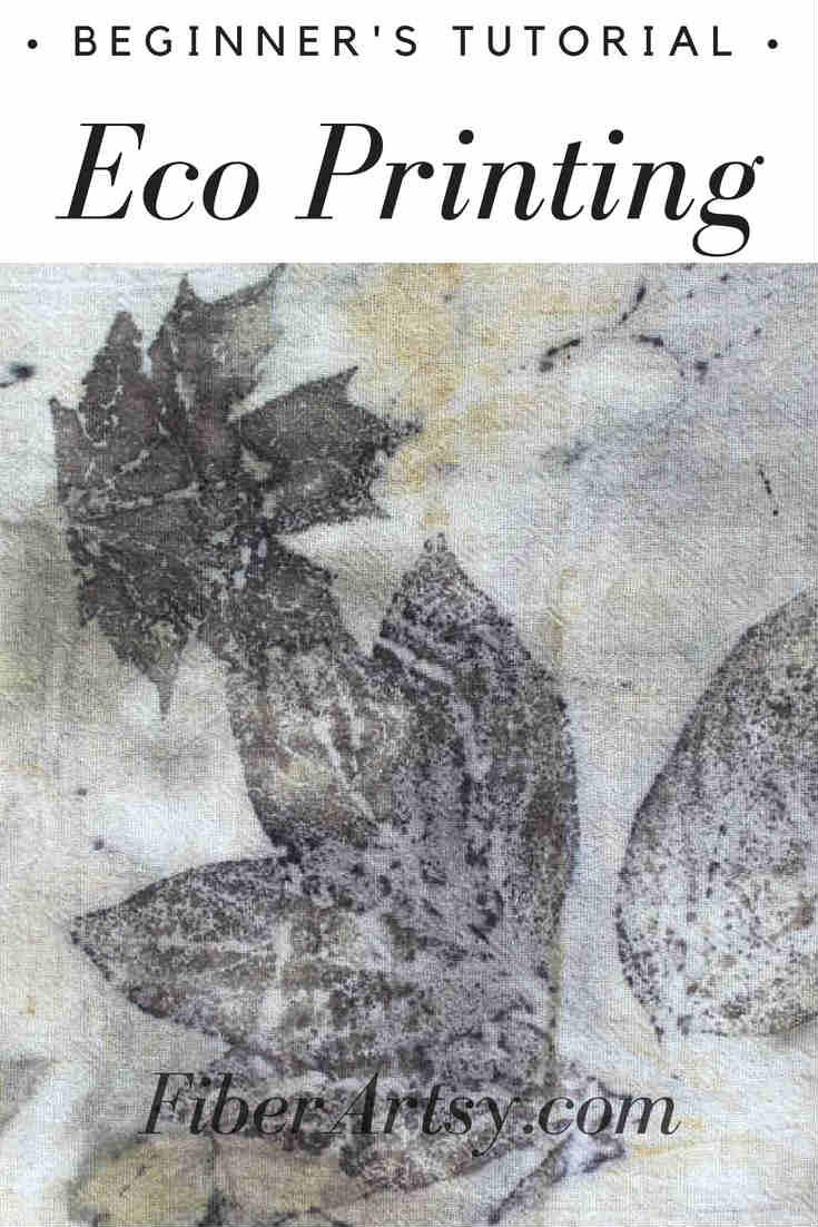 Eco Printing Beginner's Tutorial by FiberArtsy.com