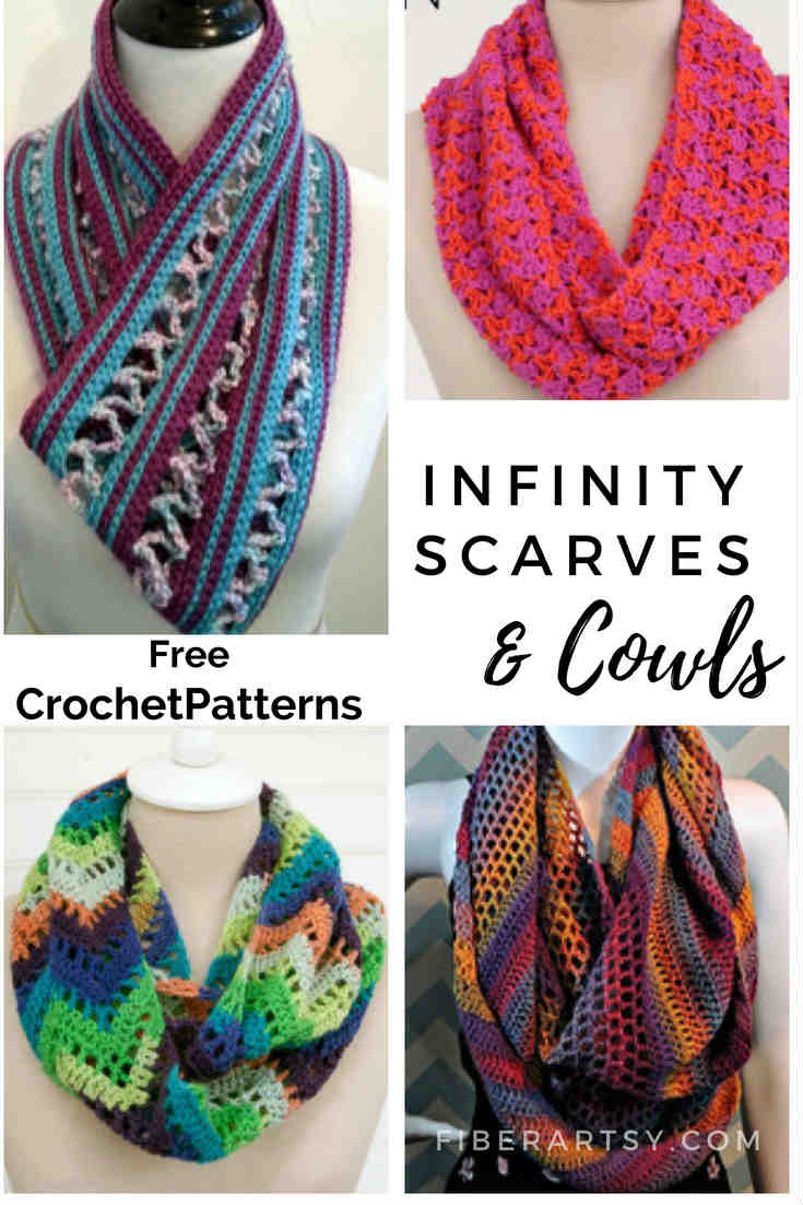 Free Infinity Scarf Crochet Patterns. Here's a fun group of free patterns from Indie Crochet designers