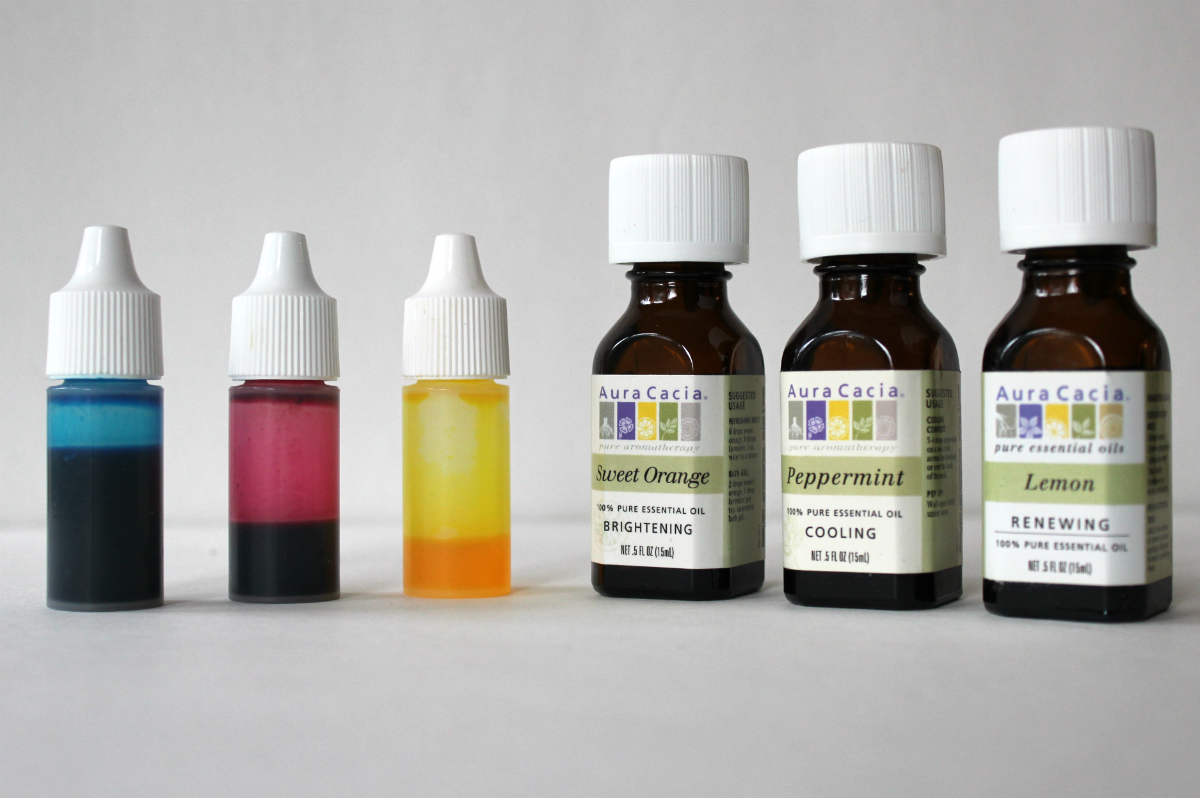 Essential Oils and Beauty Product Dyes