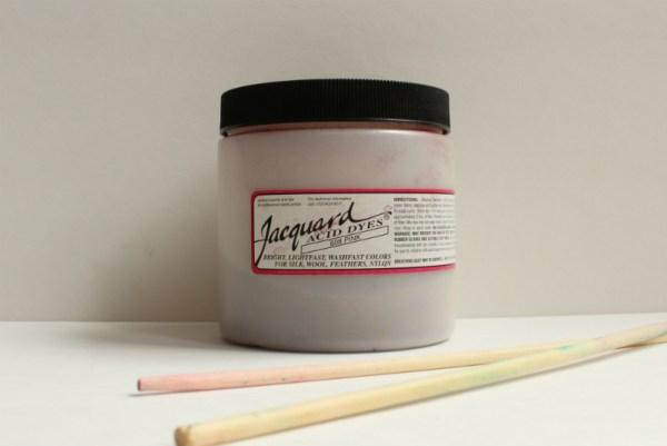 Hot Pink Jacquard acid dye