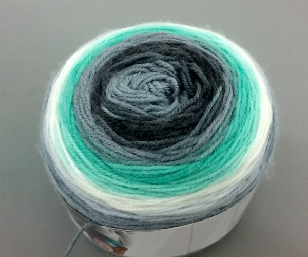 Gradient or Ombre Dyed Yarn Technique