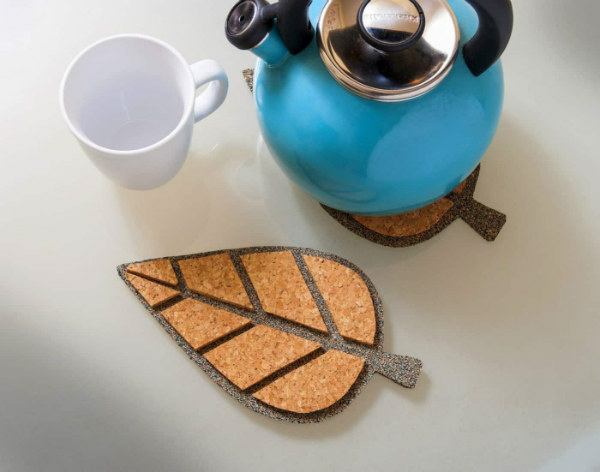 Cork Trivets for DIY Fall Decor