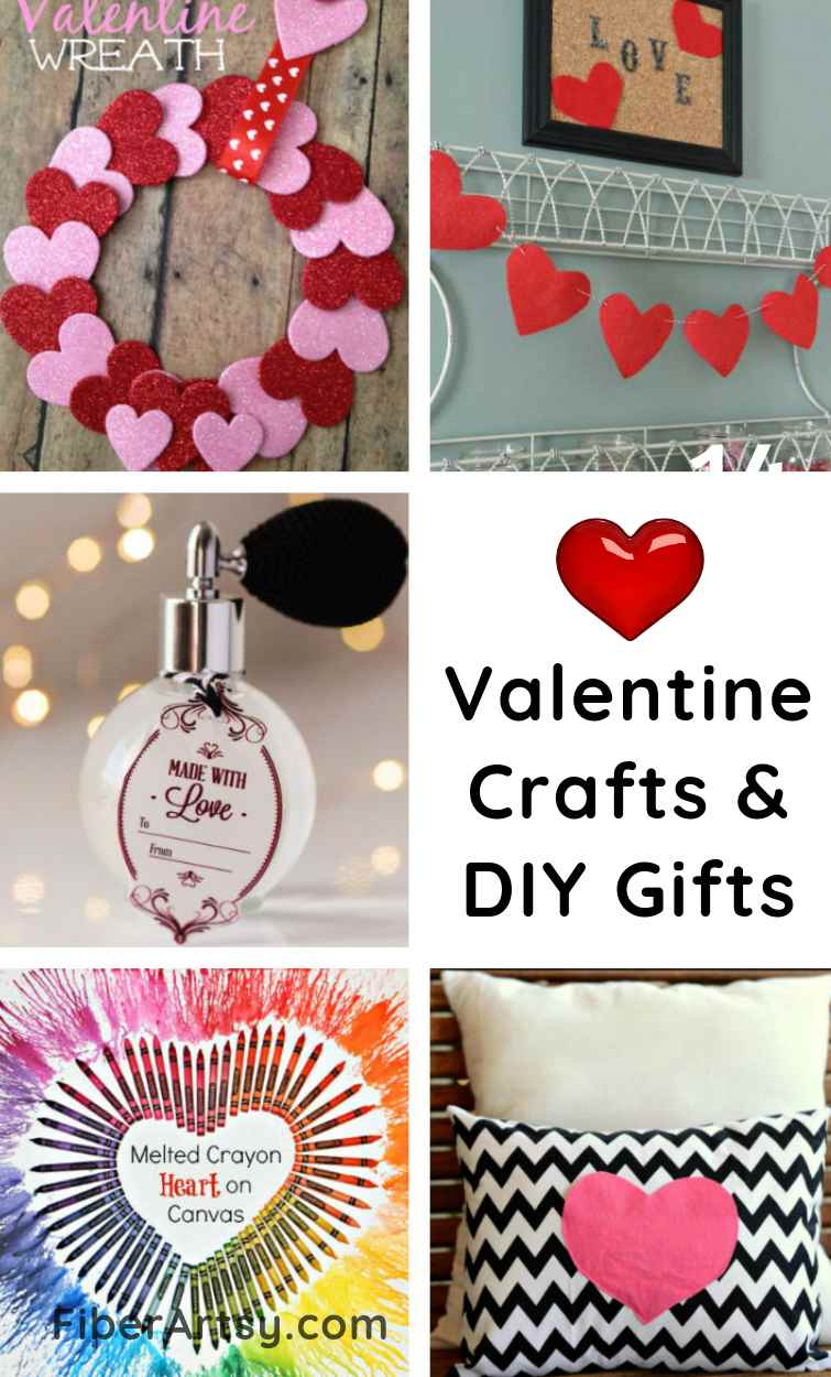 Easy Valentine Crafts for DIY Gifts and Home Decor