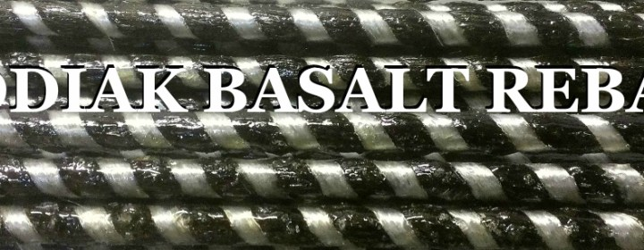 The Only American Basalt Rebar,  Made in USA,  Kodiak Rebar -Since 1984-