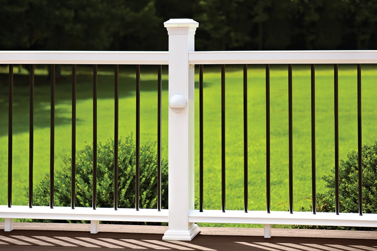 Your Top 3 Deck Railing Questions Answered – | White Railing Black Spindles | Porch | Iron Balusters | Wrought Iron | Porch Railing | Trex Deck