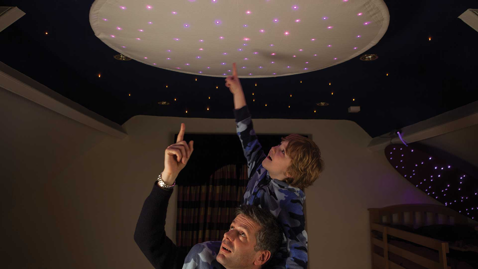 fiber optic lighting sensory lighting