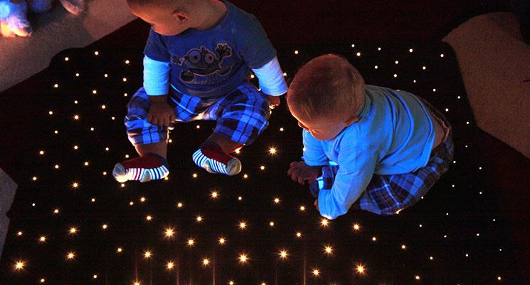 Fiber Optic Lighting Fiber Optic Star Carpets