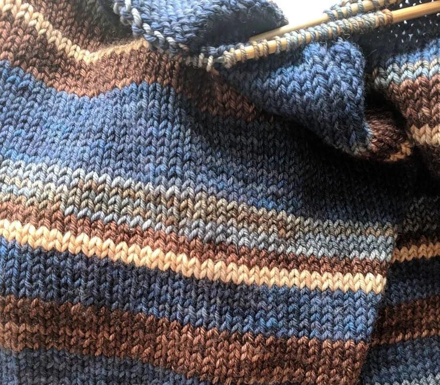 Knit by Marjorie Ray Fiber Queen