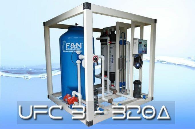Plana de tratamiento de agua potable