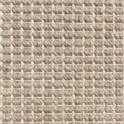 Wool Flatweave Classic Big Boucle Greige
