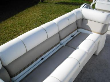 Keep your boat seats squeaky clean!