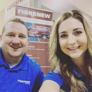 Jay and Kelsey Stewart of Fibrenew Regina