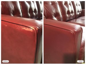 leather seat restoration