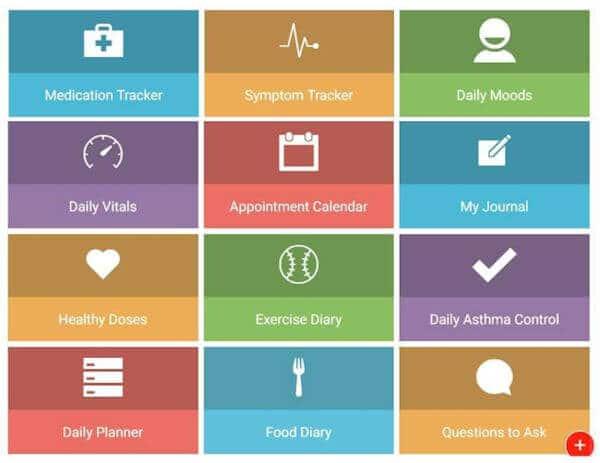 Screenshot of my Health Storylines App Tools