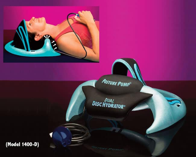 The Posture Pump® Dual Disc Hydrator® (Model 1400-D)