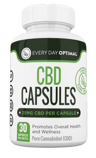 Every Day Optimal CBD Oil 25mg Capsules