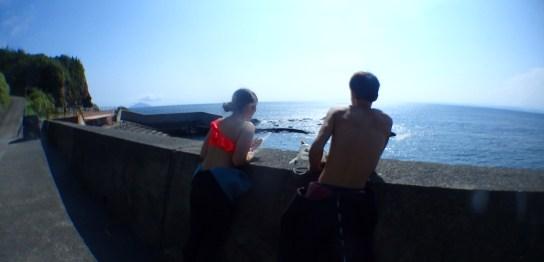 夏本番な王の浜