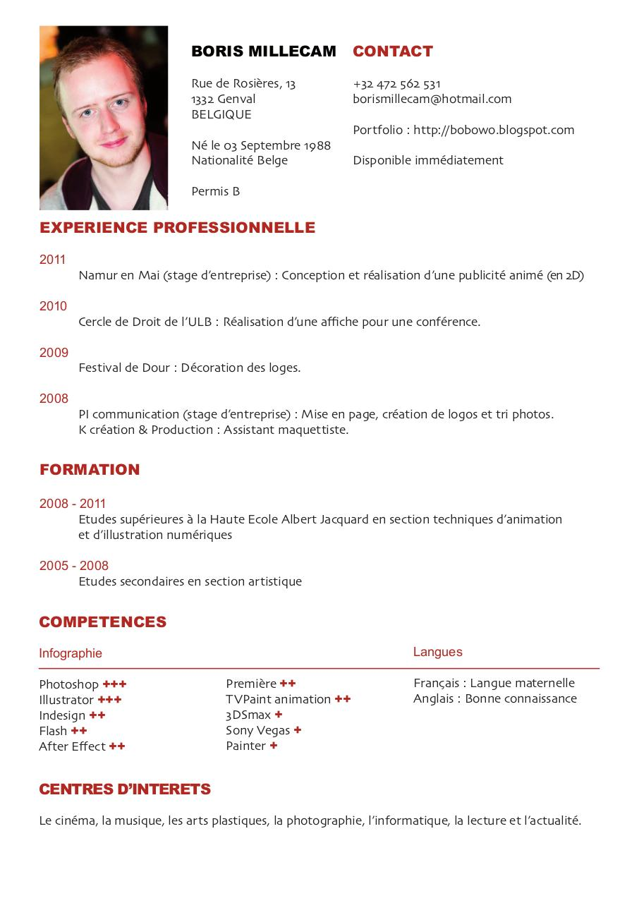 How To Write A CV (Curriculum Vitae) - Sample Template Included