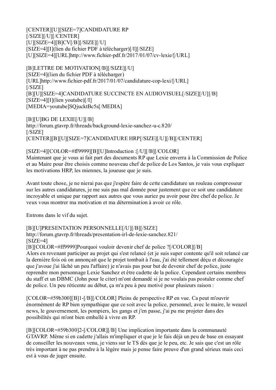 Lettre De Motivation Police Belgique I Soalan