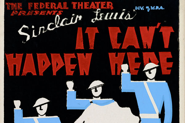 "Podcast: ""It Can't Happen Here"" by Sinclair Lewis, First Episode"