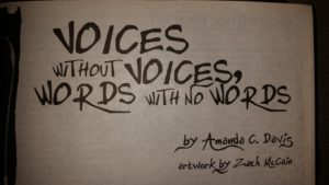 Story headers provided by Cemetery Dance on Amanda C. Davis' story.