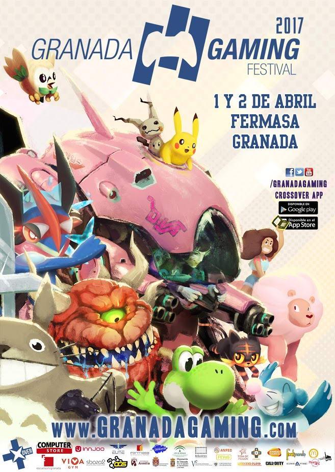 Cartel de Granada Gaming 2017
