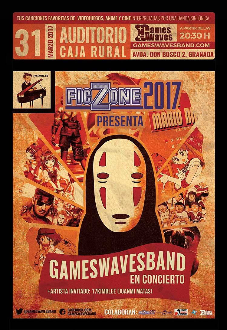 Concierto Games Waves Band