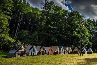 Wet tents at dawn – remembering the old ways