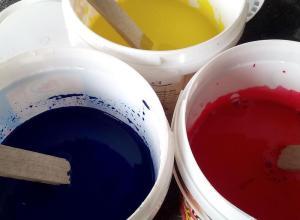 Pigmentii trebuie bine omogenizati