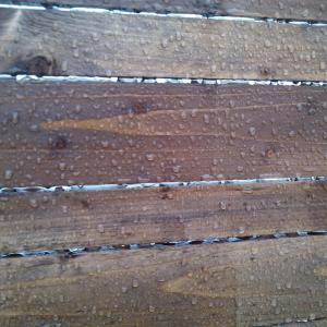 apa de ploaie se aduna in picaturi si nu strica lemnul