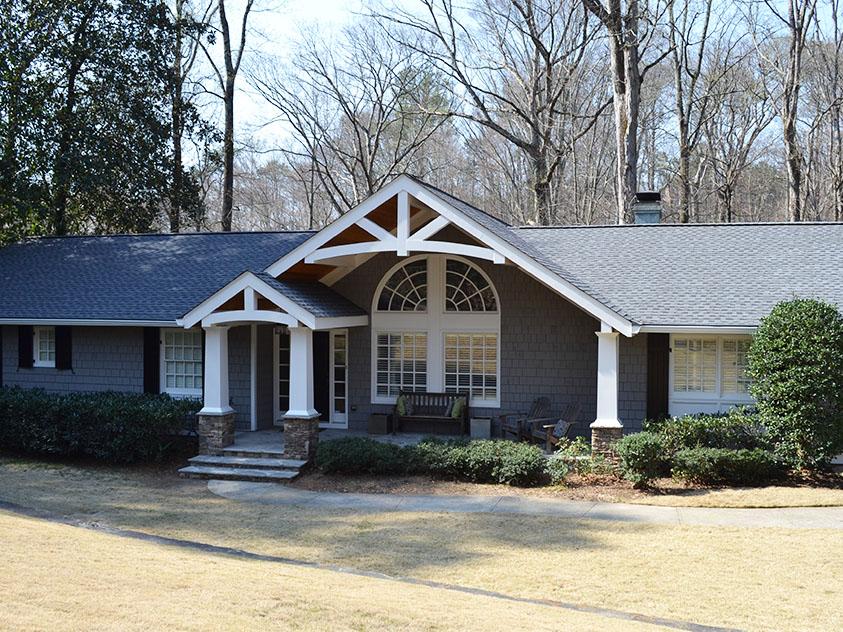 Homes Images Level Front Split Porches