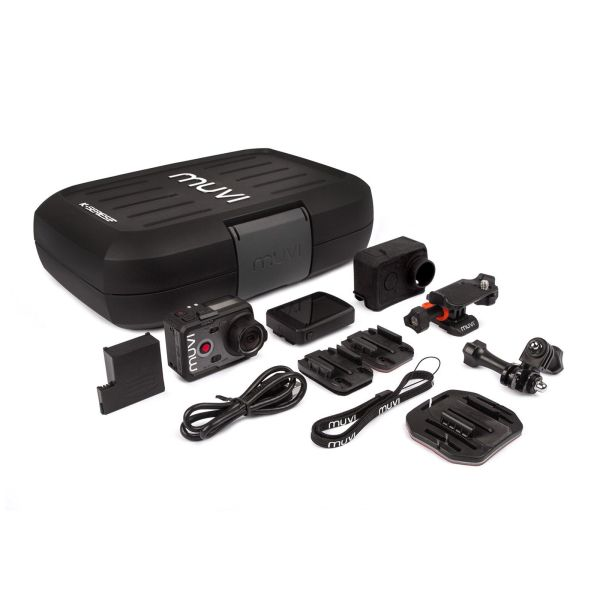 Veho VCC-007-K2PRO Muvi K-Series K-2 Pro 4k 1080p HD WiFi sport camera 12MP  6