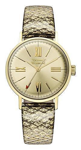 Vivienne Westwood Burlington Gold Snakeskin Strap Ladies' Watch VV170GDMT