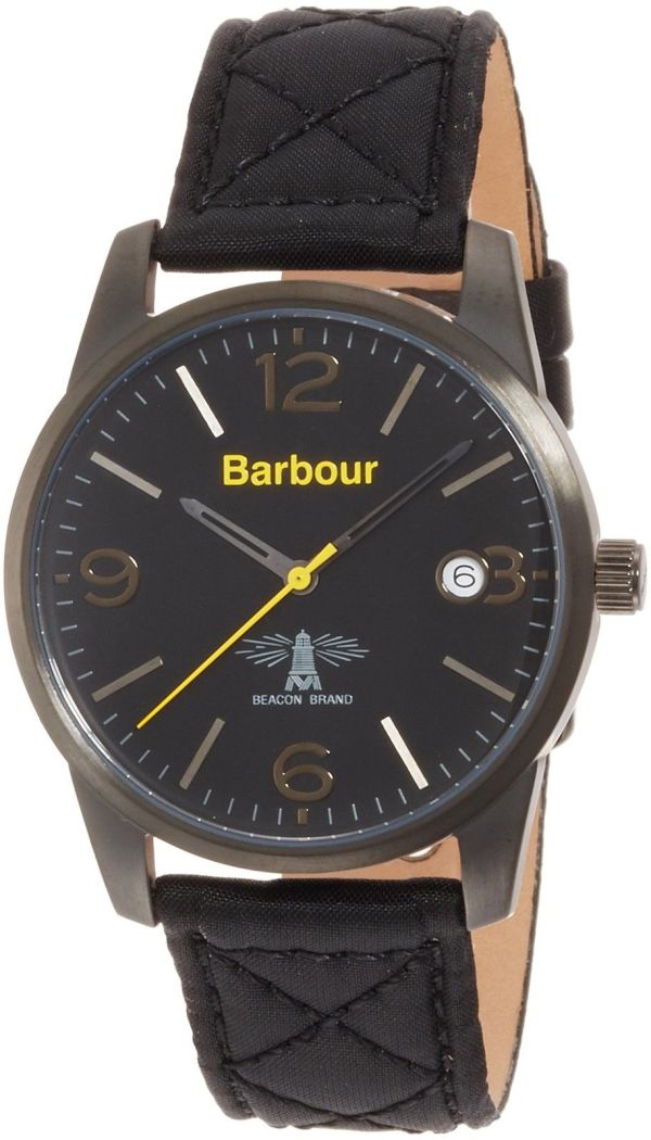 Barbour Mens Alanby Watch - Black BB026BKBK