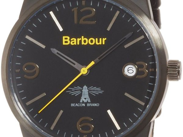 Barbour Mens Alanby Watch - Black BB026BKBK