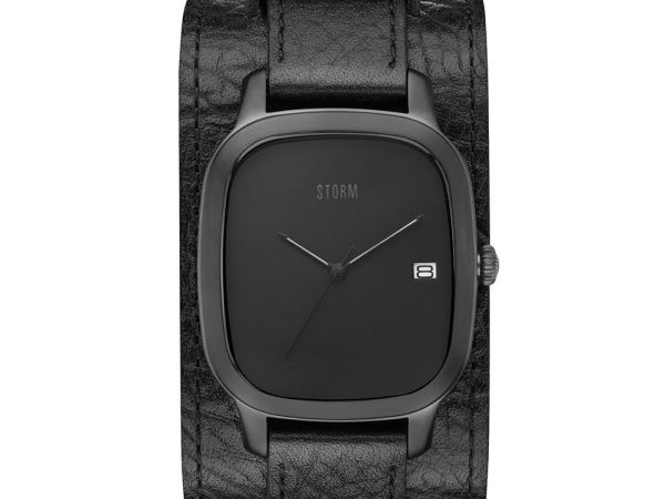 Mens STORM Benzo Cuff Watch BENZO-SQUARE-SLATE