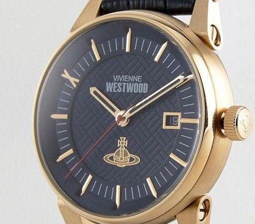 Vivienne Westwood ladies blue dial blue strap womens Watch VV158BLBL