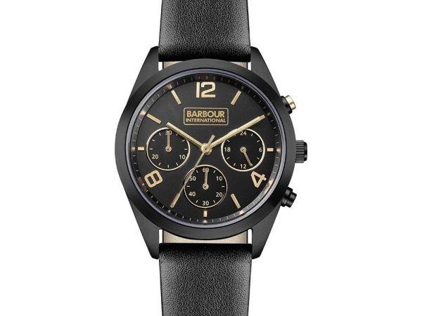 Barbour BB012BKBK International Ladies Cleadon Black Watch