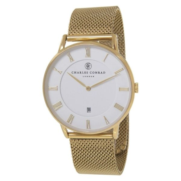 Charles Conrad CC02009 Watch - Gold Plated Fashionable Ladies' Watch