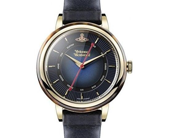 Vivienne Westwood Women's Quartz Watch with Blue Dial Analogue Display and Blue