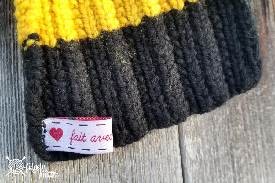 Hayden\'s House Scarf – Fidgety Knitter