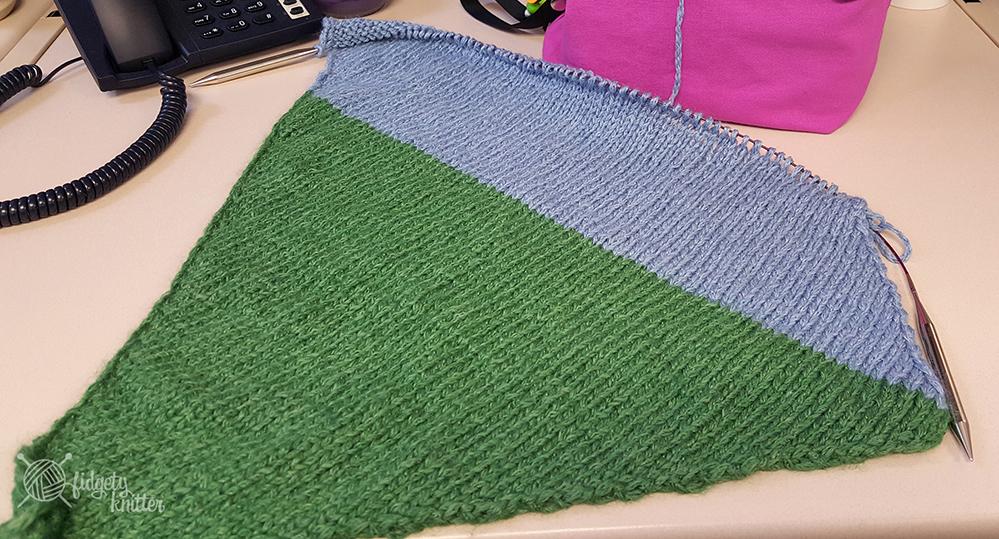 Color Block Bias Wrap Full