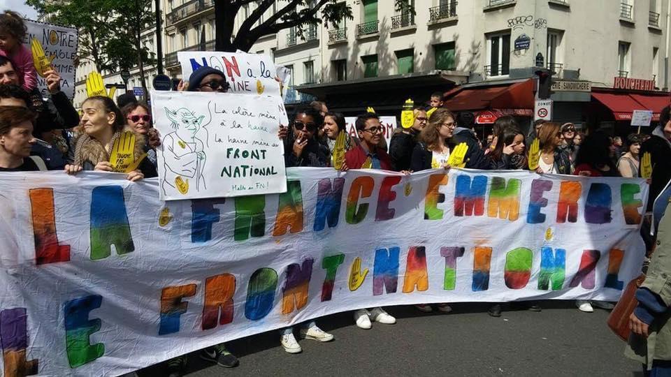 Les lycéens mobilisés contre le FN le 1er Mai !