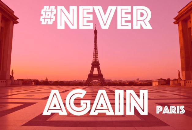Communiqué de Presse: Rassemblement Never Again à Paris