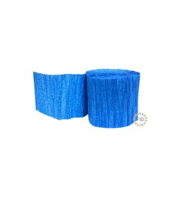 Rollo de Crepe Azul