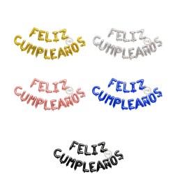 Globo Feliz Cumpleaños Colores