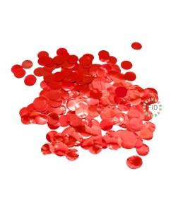 Confeti Color Rojo