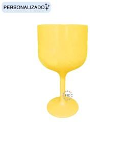 Copa de Color Amarillo Pastel